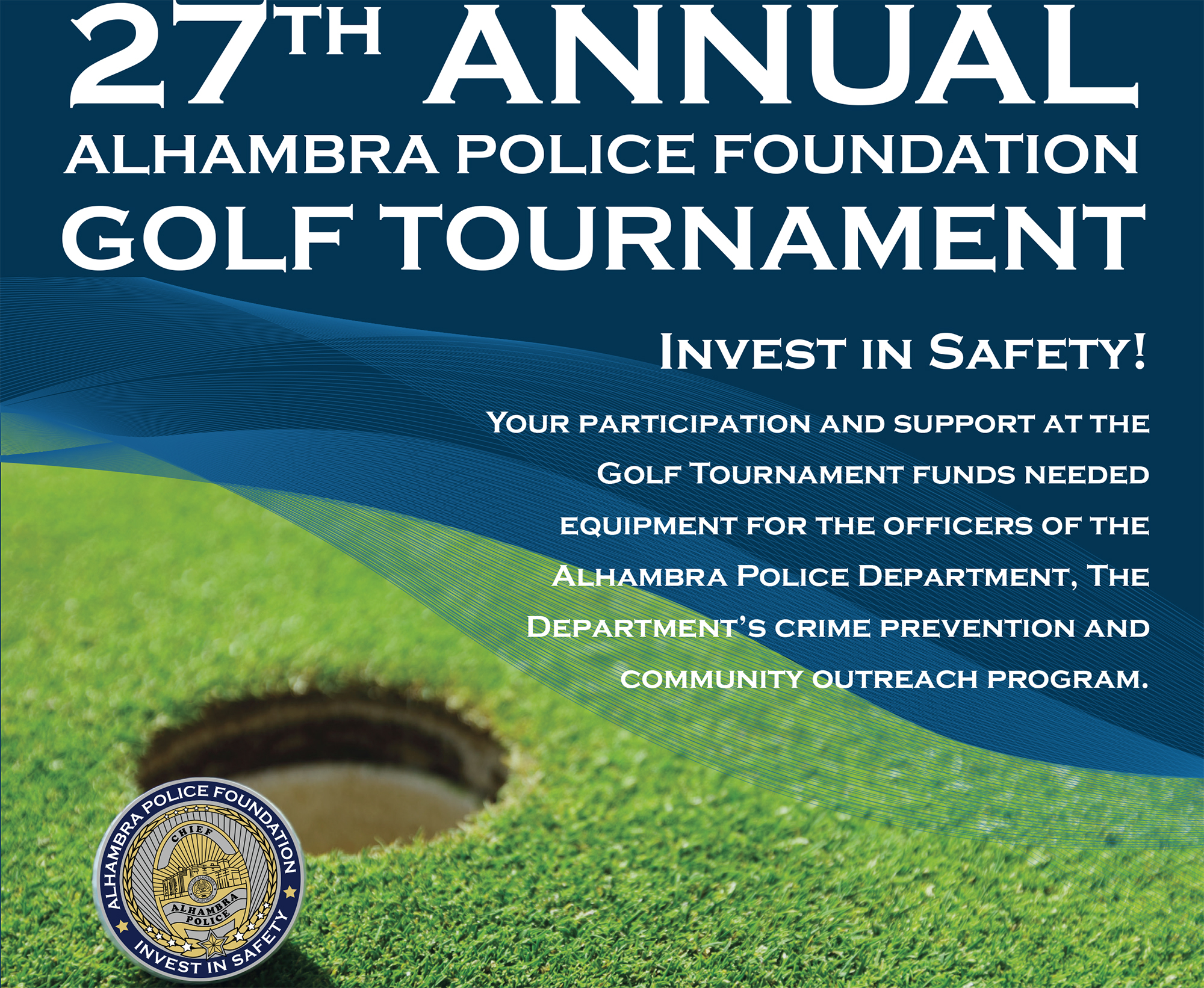 27th Annual Alhambra Police Foundation Golf Tournament