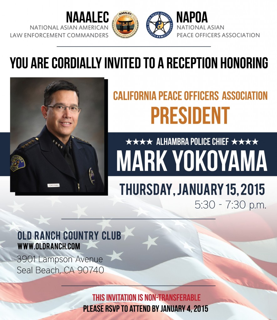 Reception Honoring Mark Yokoyama