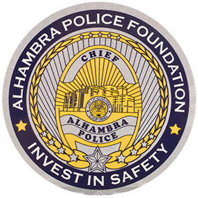 3-inch Alhambra Police Foundation Die Cut Vinyl Sticker